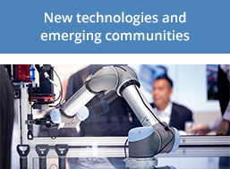New technologies and emerging communities