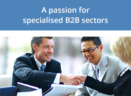 A passion for specialised B2B sectors